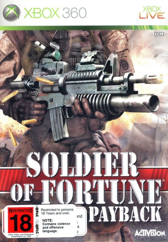 Soldier Of Fortune: Payback for Xbox 360
