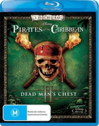 Pirates of the Caribbean - Dead Man's Chest on Blu-ray