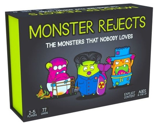 Monster Rejects - Card Game