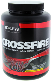 Horleys Crossfire Banana Smoothie 1.32kg + Free Gift