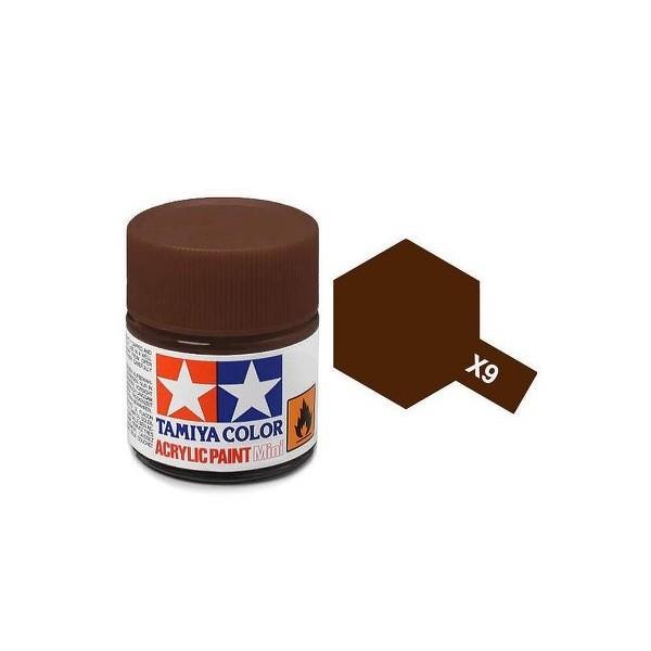 Tamiya Acrylic: Brown (X9)
