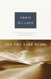 For the Time Being by Annie Dillard image
