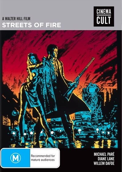 Streets Of Fire on DVD image