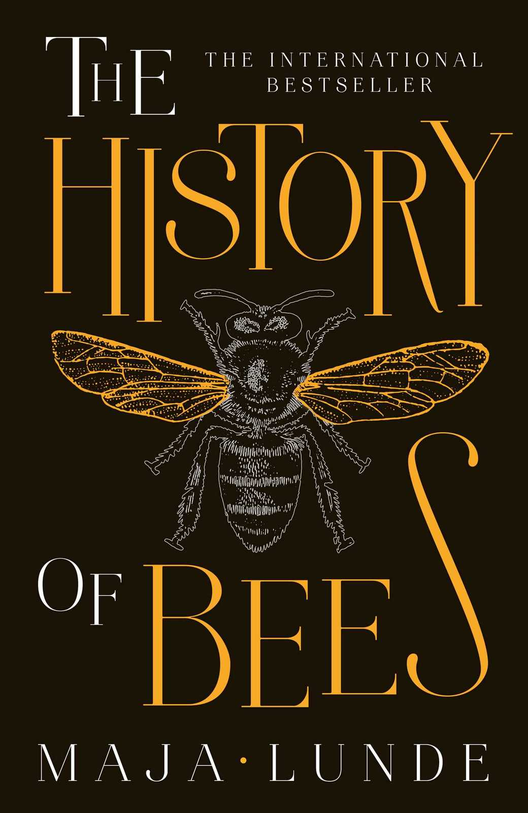 The History of Bees by Maja Lunde image