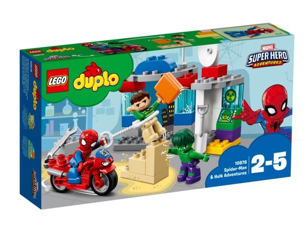 LEGO DUPLO: Spider-Man & Hulk Adventures (10876)