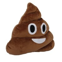 Poop Emoji Cushion - 30cm