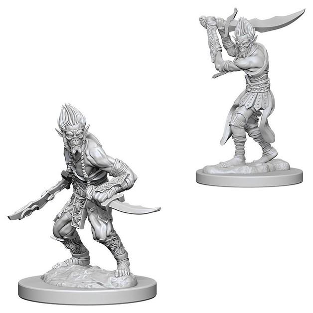 D&D Nolzur's Marvelous: Unpainted Miniatures - Githyanki