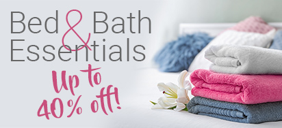 Winter Bed & Bath Deals!