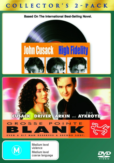 High Fidelity / Grosse Pointe Blank - Collector's 2-Pack (2 Disc Set) on DVD image