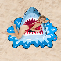 BigMouth: Gigantic Beach Blanket - Shark