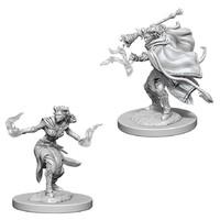 D&D Nolzurs Marvelous: Unpainted Miniatures - Female Tiefling Warlock