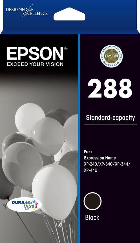 Epson 288 STD Black Durabrite Ink