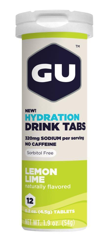 GU Hydration Tabs - Lemon Lime (54g) image