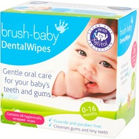 Dental Wipes - 0-16 Months (Pack of 28) image