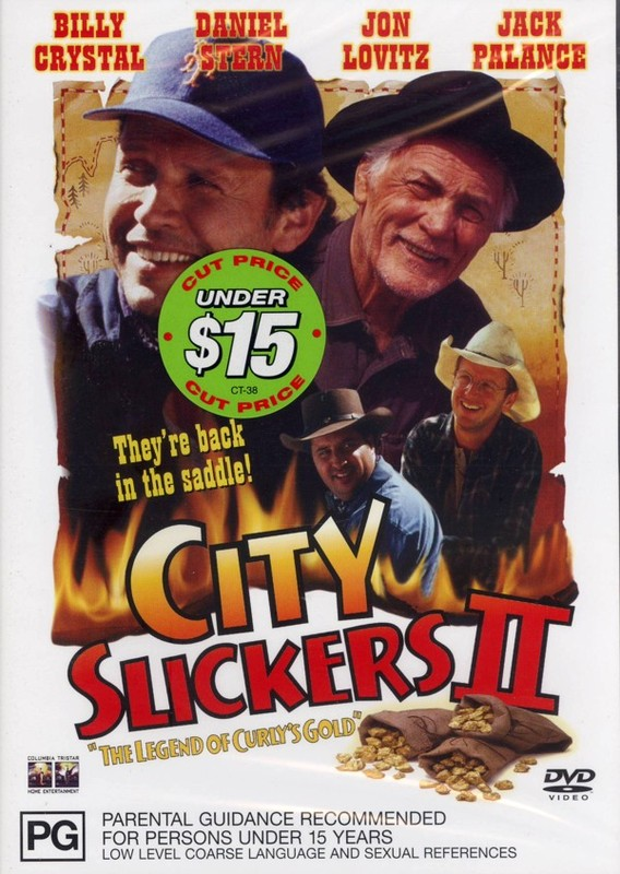 City Slickers 2 - The Legend of Curly's Gold on DVD
