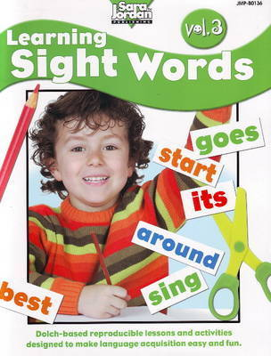 Learning Sight Words Resource Book: Volume 3 by Barbara Rankie