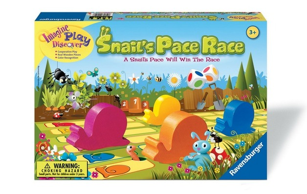 Ravensburger - Snails Pace Race Game