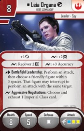 Star Wars: Imperial Assault: Leia Organa Ally Pack