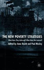 The New Poverty Strategies