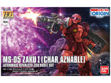 Gundam 1/144 Mobile Suit Gundam: The Origin - HG Zaku I (Char Aznable)Model Kit