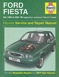 Ford Fiesta (95-01) Service and Repair Manual by A.K. Legg image