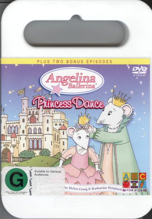 Angelina Ballerina: Princess Dance on DVD image
