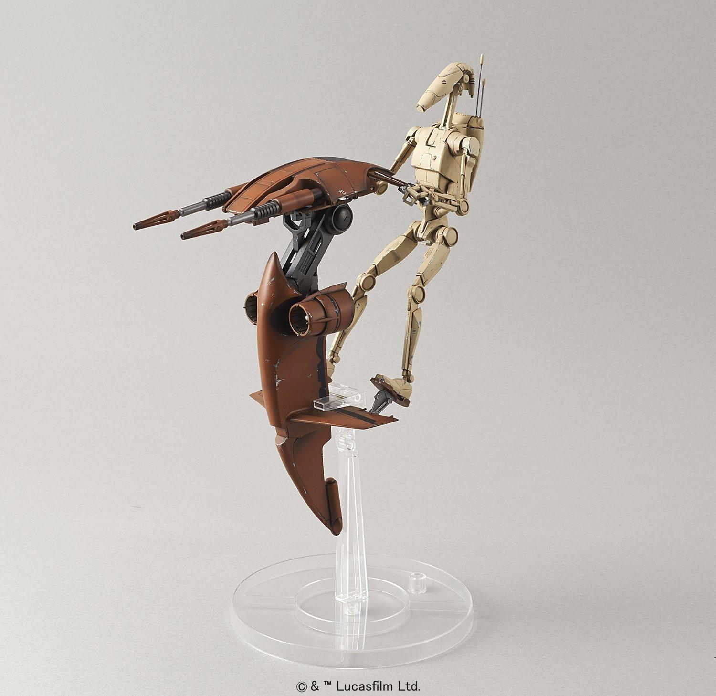 Star Wars 1/12 BATTLE DROID & STAP - Scale Model Kit image