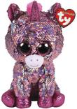TY Beanie Boo: Flip Sparkle Unicorn - Small Plush