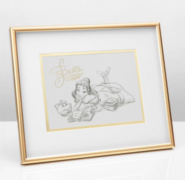 Disney Collectible Framed Print: Belle