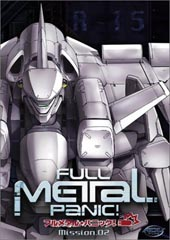 Full Metal Panic! - Vol 2 on DVD