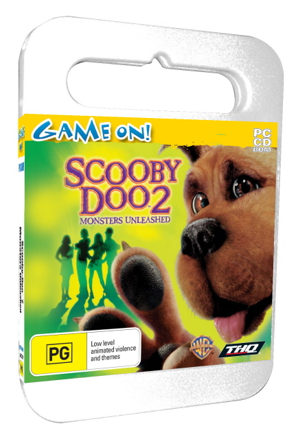 Scooby Doo Monster Unleashed - Toy Case for PC Games