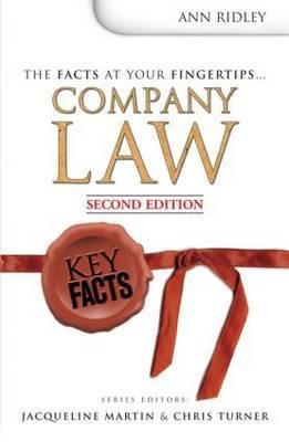 Company Law by Ann Ridley