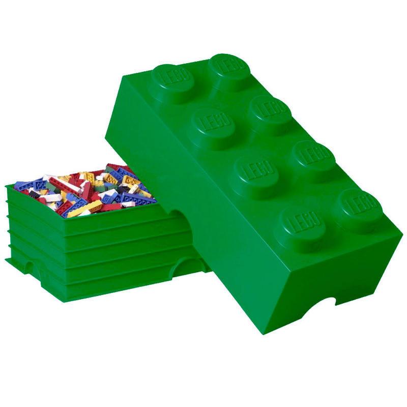 LEGO Storage Brick 8 (White) | at Mighty Ape Australia