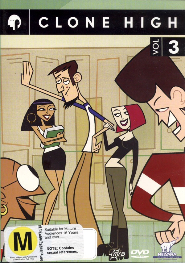Clone High - Vol. 3 on DVD image
