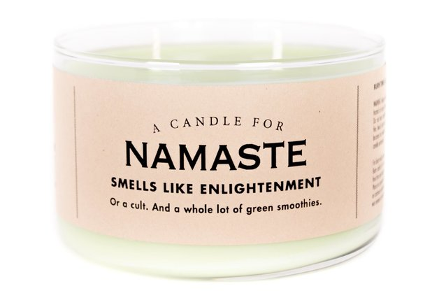 Whiskey River Co: A Candle For Namaste