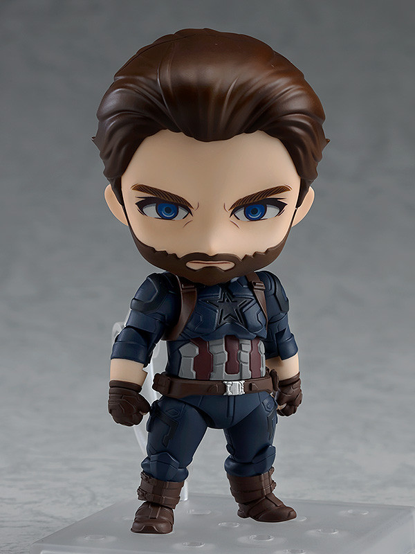 Nendoroid: Captain America (Infinity Edition) - Articulated Figure image
