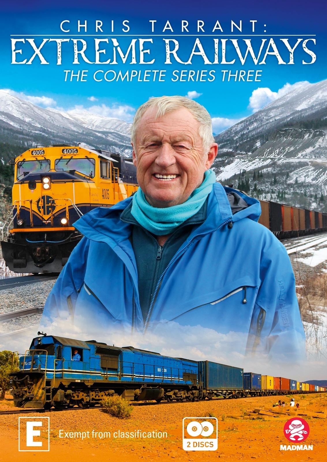 Chris Tarrant's Extreme Railways: Series 3 on DVD image