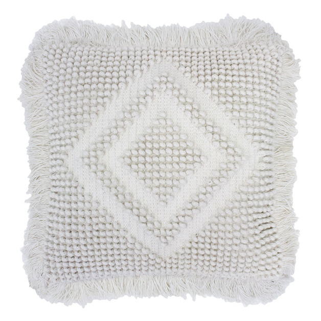 Timma Cushion (Ivory)