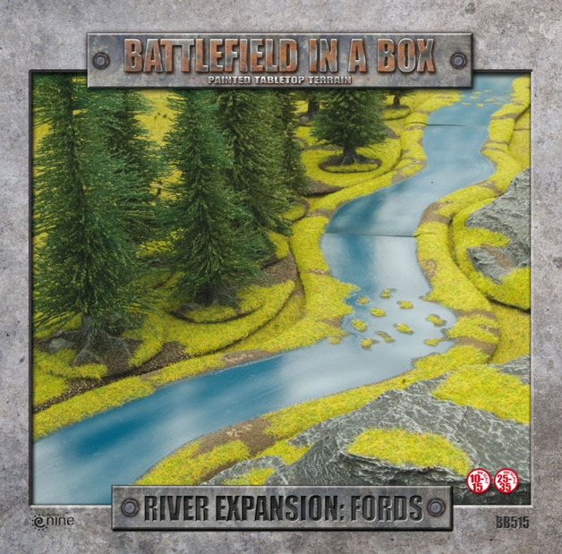 Battlefield in a Box - River Expansion: Fords