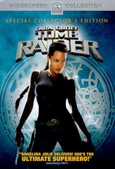 Lara Croft - Tomb Raider on DVD