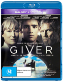 The Giver on Blu-ray, UV
