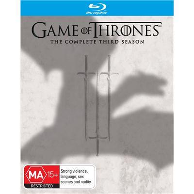 Game of Thrones - The Complete Third Season on Blu-ray