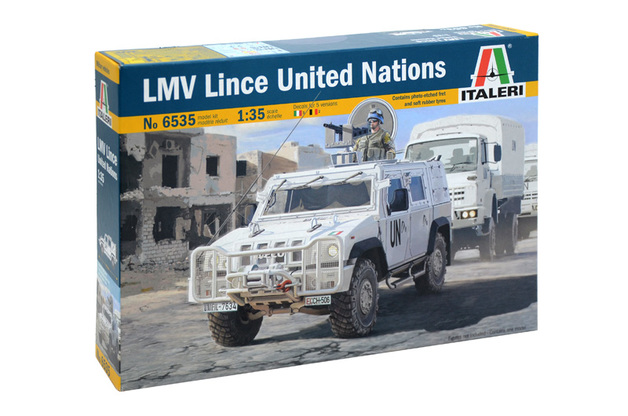 Italeri 1:35 LMV Lince United Nations Model Kit