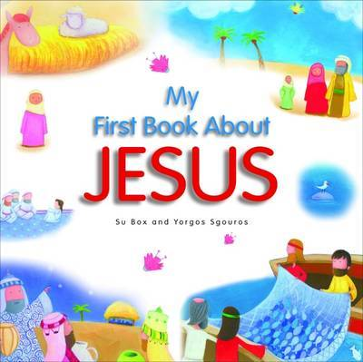 My First Book About Jesus by Su Box image