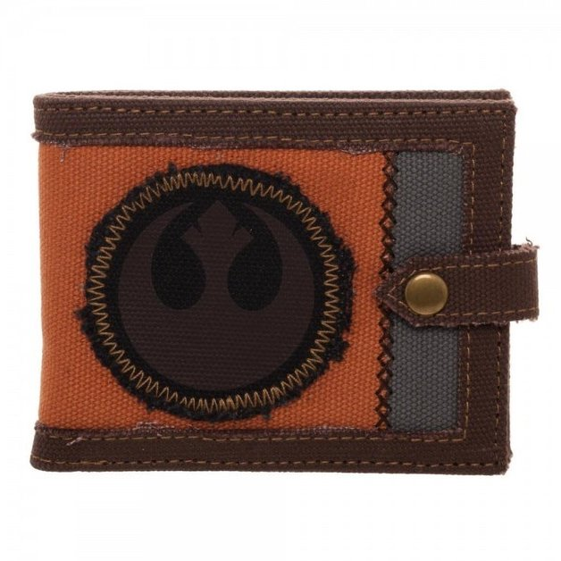 Star Wars Episode 8 Bi-Fold Wallet Rebel