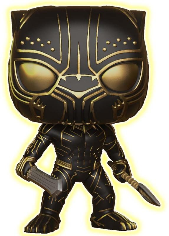 Black Panther - Erik Killmonger (Glow Ver.) - Pop! Vinyl Figure