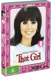 That Girl - Complete Series 1 (5 Disc Set) on DVD image