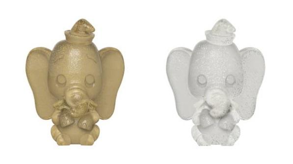 Disney: Dumbo (Gold & Silver) - Hikari XS Vinyl Figure 2-Pack image