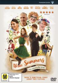 Three Summers on DVD