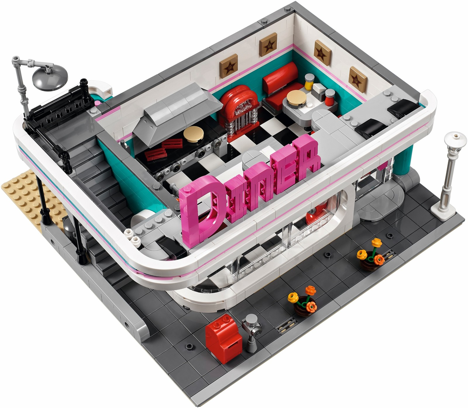 LEGO Creator: Downtown Diner (10260) image
